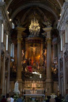 Igreja do Bom Jesus do Monte - altar: by Alexandre Maia on 500px