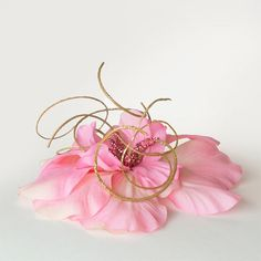 Hibiscus Flower Hair Clip - beautiful details!