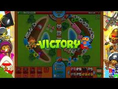 Bloons TD Battles Speed With Fire 100%win
