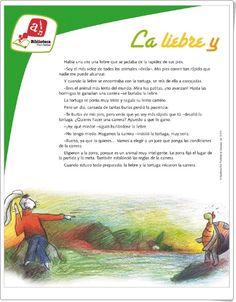 """""""La liebre y la tortuga"""" de Esopo"""