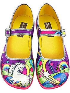 Hot Chocolate Design Chocolaticas Lucy In The Sky Women's Mary Jane Flat Multicoloured US Size: 8 ❤ ...