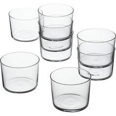 set of 8 marta tasting glasses | CB2