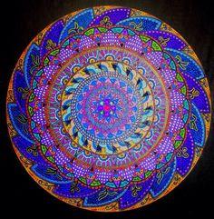 . Mandala Artwork, Beach Mat, Decorative Bowls, Zen, Outdoor Blanket, Canes, Mosaics, Color, Home Decor