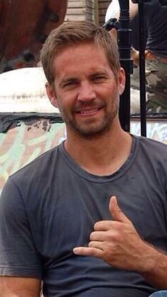 Paul Walker represents the humbleness and welcoming of the 808 state.