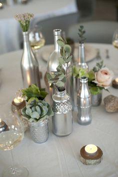 Vase pots en verre I ©MG Evénements Ile de Ré