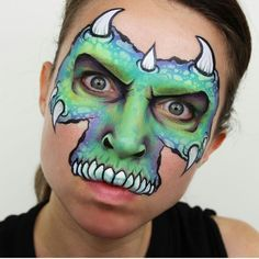 Monster Face Painting by Ashlea Henson