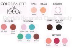1960s-makeup-look---color-palette