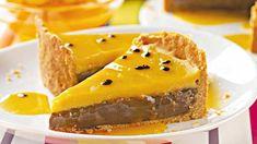 Torta de Brigadeiro com Maracujá | Receitas e Dicas do Chef