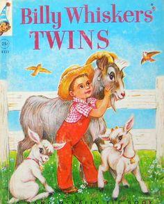 Billy Whiskers' TWINS:Jean Tamburine http://twin-rabbit.com/?pid=82228368