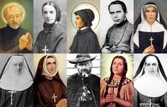 The 10 American saints the U.S. Bishops' conference is highlighting for the Year of Faith.
