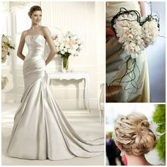 Soft silk wedding theme www.honeymoonshop.nl