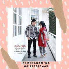 Setelan model Baju Batik Couple Kebaya Sarimbit Kombinasi Selendang Tile Mutiara Batik Couple, Couples, Coat, Model, Jackets, Fashion, Down Jackets, Moda, Sewing Coat