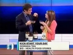 Dr  Oz Discusses Moringa (I paid less than $10 but not in a tea.( powdered caps.)