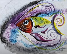 'HURRICANE FISH' ART by J. Vincent Scarpace