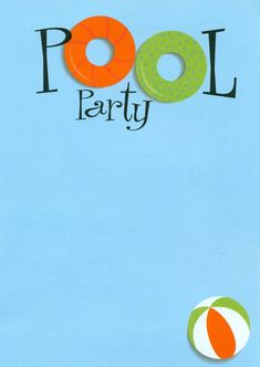 Pool party free printable party invitation template greetings swimming pool party invitations maxwellsz