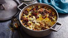 A melting pot of tender meat, rice, dried fruits and Kashmiri spices - great for treating special guests to a feast.
