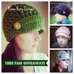 Giveaway!  Hats
