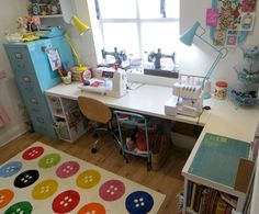 My sewing room | lazy daisy jones