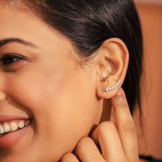 Diamond Jewellery, Jewelry Collection, Minimalist, Jewels, Earrings, Ear Rings, Diamond Jewelry, Stud Earrings, Jewerly