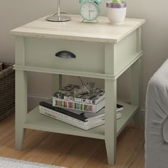 Altra End Table with 1 Drawer & Reviews | Wayfair