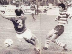 1986/87 - Sporting-Benfica, 7-1. MANEL ENTRA NA LENDA.No dia em que homenageou o eterno Manuel Marqu... - Jornal Record