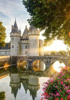 France Hotels - Online hotel reservations for Hotels in France Fantasy Castle, Fairytale Castle, Beautiful Castles, Beautiful Places, Beaux Arts Architecture, Loire Castles, Places Around The World, Around The Worlds, Loire Valley France