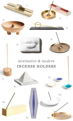 Stunning Minimalist & Modern Incense Holders You'll Lust For! Diy Clay, Clay Crafts, Ceramic Pottery, Ceramic Art, Insense Holder, Diy Incense Holder, Incense Sticks, Incense Burner, Clay Art