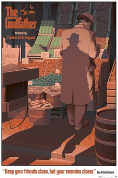 Laurent Durieux's THE GODFATHER Print for Odd City