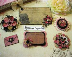 Prima Romance Novel Handmade Paper by mydivineinspiration on Etsy