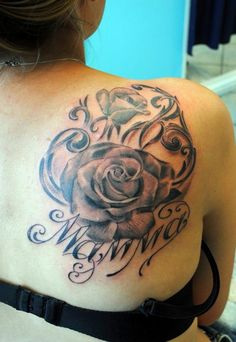 55 Best Rose Tattoos Designs - Best Tattoos for 2015 - Pretty Designs - Fashion Clothes, Makeups, Handbags, Hairstyles 2015