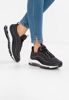 be - Sneakers Nike - Ideas of Sneakers Nike - Nike Sportswear AIR MAX 97 Sneakers laag black/dark grey Zalando. Sneakers Mode, Air Max Sneakers, Sneakers Fashion, All Black Sneakers, Sneakers Adidas, Sneakers Workout, Nike Sportswear, Nike Air Max, Air Max 97 Outfit