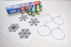 Puffy Paint Window Decorations | Club Chica Circle - where crafty is contagious