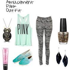 amusement park outfit, love!!