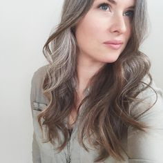 After a long day in suicide intervention training, I forgot to post for Interant. After a long day Long Gray Hair, Silver Grey Hair, Dark Hair, Men Blonde Highlights, White Highlights, Trendy Hairstyles, Bob Hairstyles, Cara Delevingne Hair, Grey Hair Inspiration