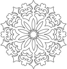 Printable Printable Mandala Stencil With Template Border : Printable Printable Mandala Stencil With Template Border Ideas Gallery : Free Coloring Pages for Kids Rangoli Colours, Rangoli Patterns, Stencil Patterns, Rangoli Designs, Embroidery Patterns, Rangoli Ideas, Mandala Coloring Pages, Colouring Pages, Adult Coloring Pages