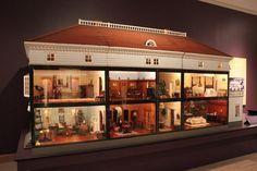 1900 Dollhouse -  Abby Aldrich Rockefeller Folk Art Museum