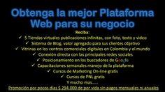 Adquiera su Plataforma Web...Usted la Administra Bogotá D.C. Texts, Shopping Malls, Rigs