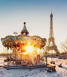 Morning - Paris, France