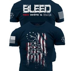 Enlisted Nine - Bleed Red, White, and Blue – Grunt Style