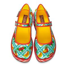 "Hot Chocolate Design® ""Chocolaticas® Kitsch Picnic"" Women's Mary Jane Platform"