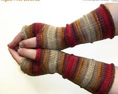 Verkauf 20 % Rabatt stricken fingerlose Handschuhe