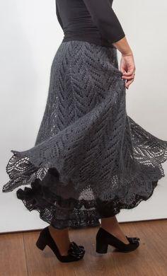 Raven Tail Skirt by Lena Rodina