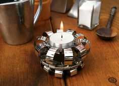 Learn how to make this elegant tin can tea light holder - the ultimate transformation with easy to follow instructions.