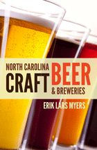 North Carolina Craft Beer & Breweries available April 2012. Profiles of 45 brewpubs and breweries statewide, including each brewery's history and the vision of its founders. Myers shares how each brewery offers something different or unique. Sidebars about festivals, bottle shops, and other beer-related features—like hop farms, cideries, and meaderies—show how craft beer is a growing and thriving industry in North Carolina.