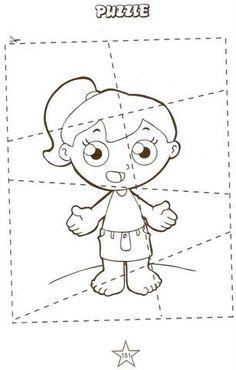 Human body - Corpo humano Veja também: Atividades de Inglês Família e Cores. Hair, ear, nose, mouth, leg, foot, eye, arm, hand, finger,...