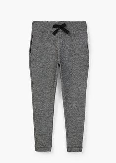 Pantalón baggy algodón | MANGO