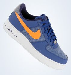 Can never go wrong with AF1's. The combination of Royal, Denim, and Orange works well for me. One of the better GR color ways I've seen.