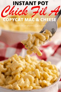 Potluck Side Dishes, Side Dishes Easy, Main Dishes, Best Macaroni And Cheese, Mac And Cheese, Cracker Barrel Copycat Recipes, Spinach And Cheese Ravioli, Using A Pressure Cooker, Pressure Cooking