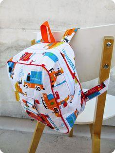 *Tadaam !: DIY / Tuto : Sac à dos de maternelle