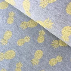 Zomerjogging  glitter ananas (geel)